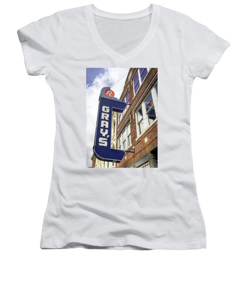 Gray's Rx In Franklin Tn Women's V-Neck (Athletic Fit)