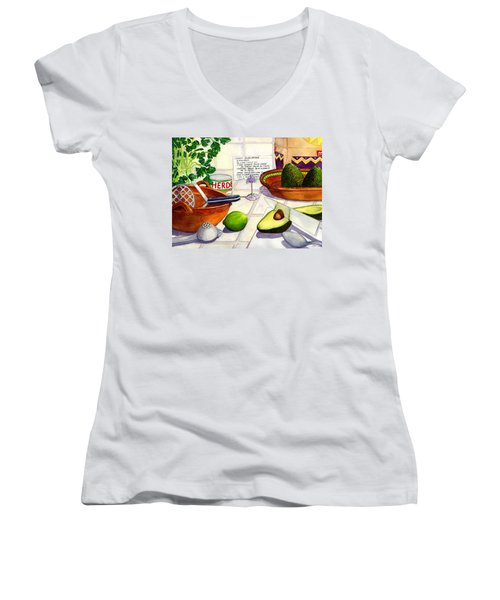Great Guac. Women's V-Neck T-Shirt