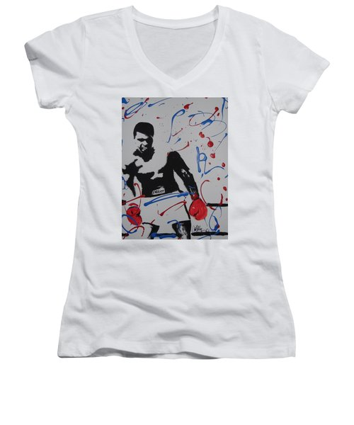 Great Ones Live On Women's V-Neck