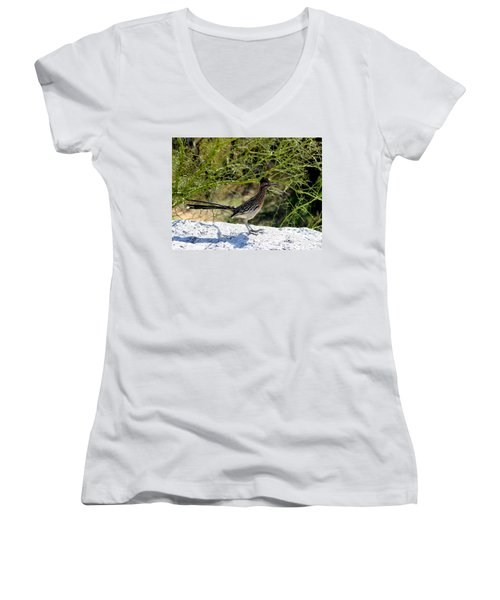 Greater Road Runner Women's V-Neck