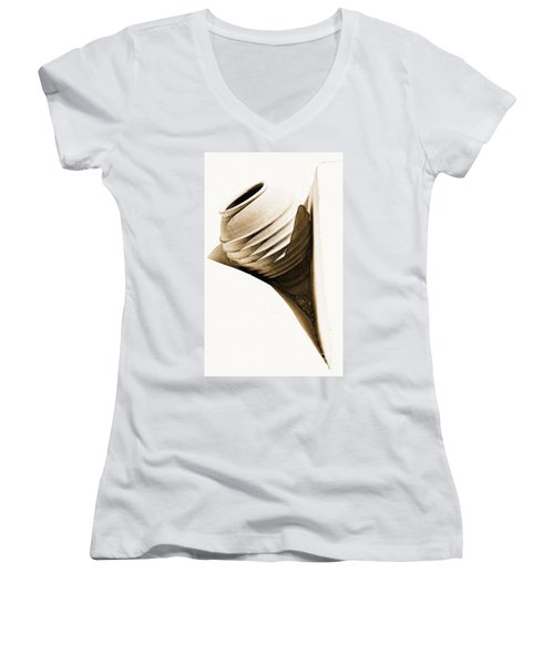 Greek Urn Women's V-Neck T-Shirt