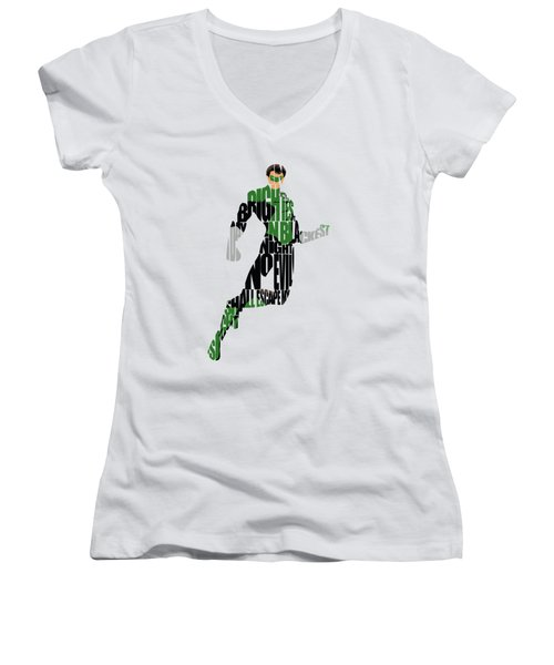 Green Lantern Women's V-Neck T-Shirt