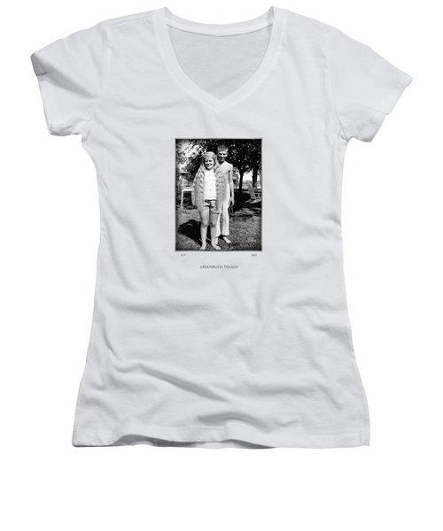 Greenbush Tough Women's V-Neck T-Shirt