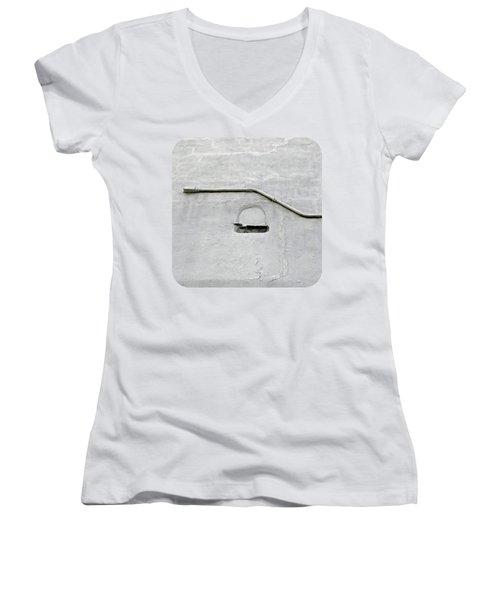 Grey Matter Women's V-Neck T-Shirt (Junior Cut) by Ethna Gillespie