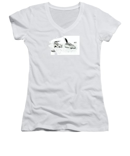 Ground Squirrels Women's V-Neck