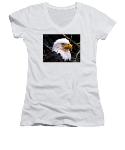 Grounded Women's V-Neck T-Shirt