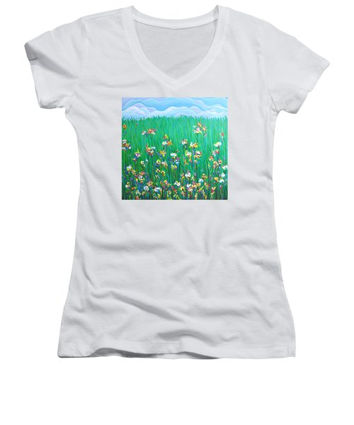 Grown To Distraction Women's V-Neck