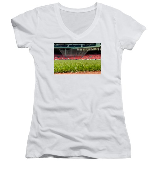 Hallowed Ground Women's V-Neck (Athletic Fit)
