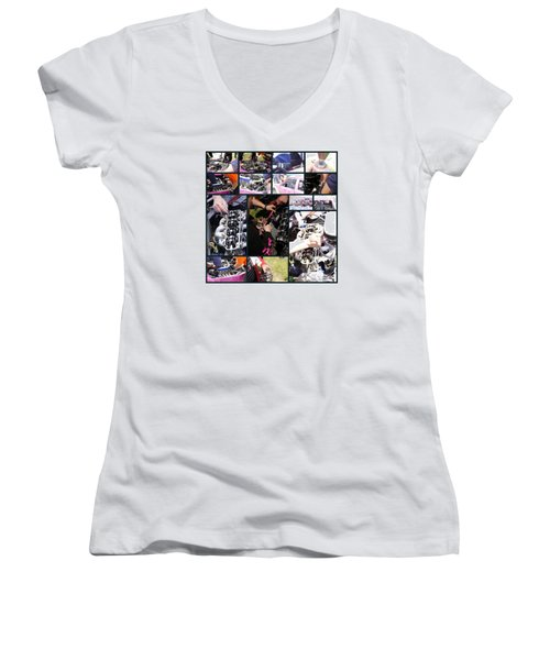 Hands2 Women's V-Neck T-Shirt