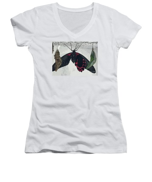 Hanging Around Women's V-Neck