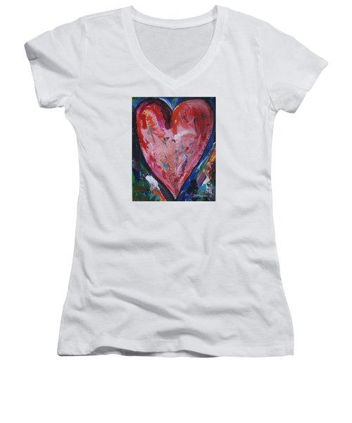 Happiness Women's V-Neck T-Shirt