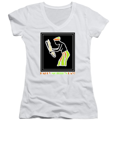 Happy Mother's Day 5 Women's V-Neck T-Shirt