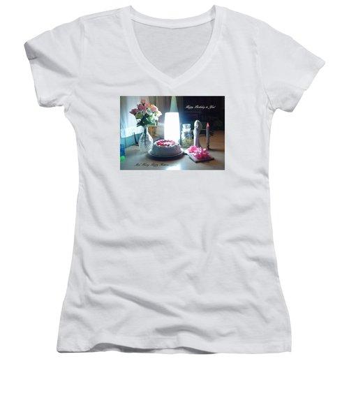 Happy Returns Women's V-Neck T-Shirt