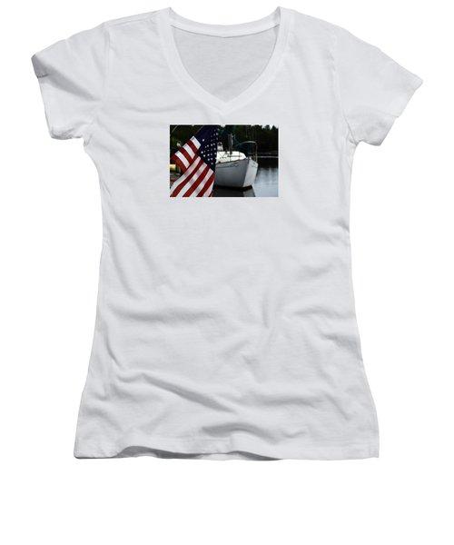 Harbor Women's V-Neck T-Shirt