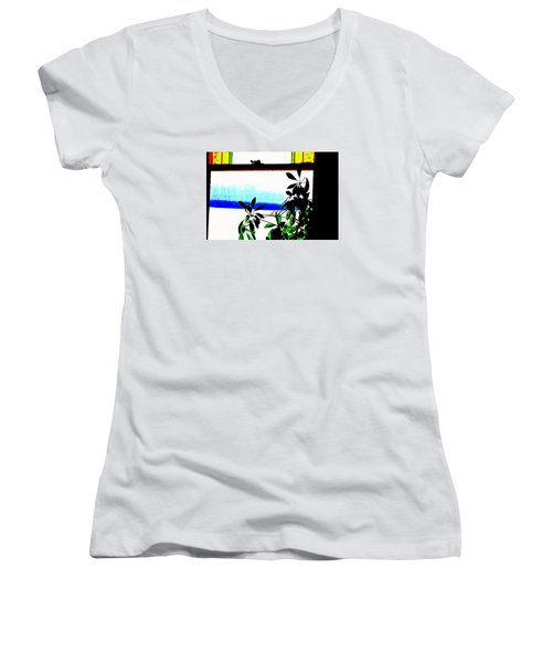 Harbor Side Window Women's V-Neck
