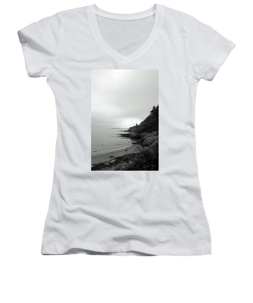 Harpswell, Maine No. 5 Women's V-Neck T-Shirt