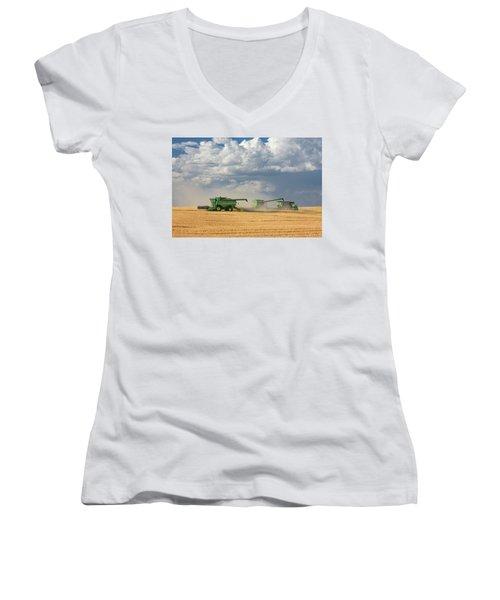 Harvest Clouds Women's V-Neck