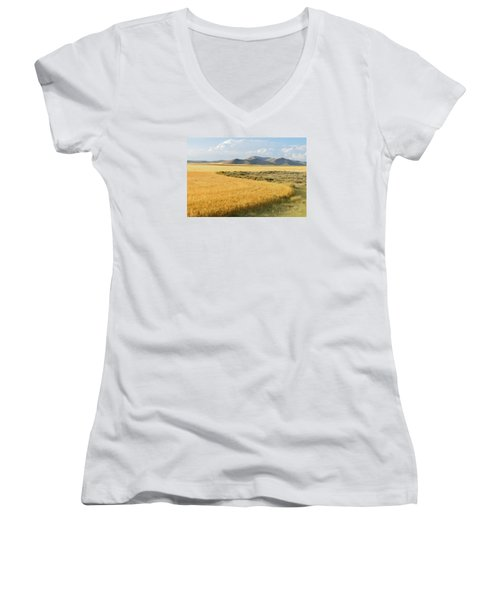 Harvest Women's V-Neck