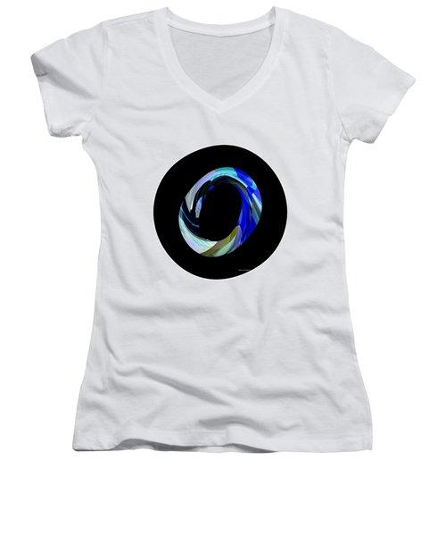 Hat Women's V-Neck T-Shirt (Junior Cut) by Thibault Toussaint