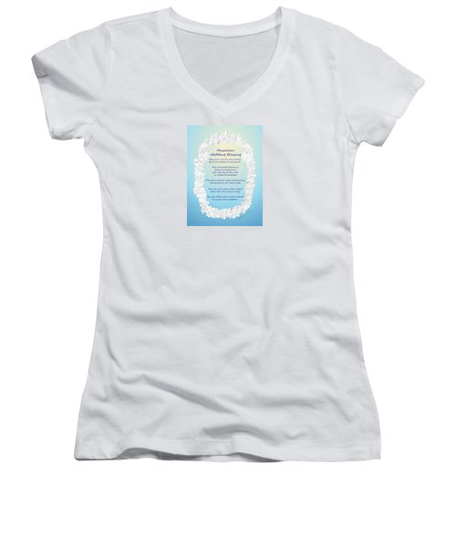 Hawaiian Wedding Blessing Women's V-Neck