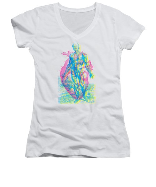 Heart-venus Women's V-Neck (Athletic Fit)