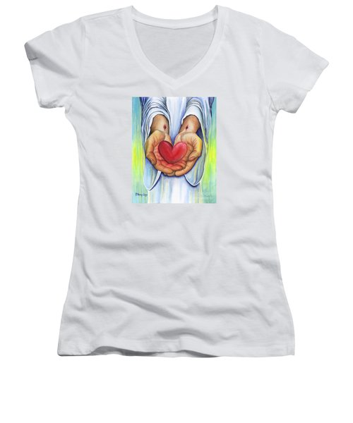 Heart's Desire Women's V-Neck (Athletic Fit)