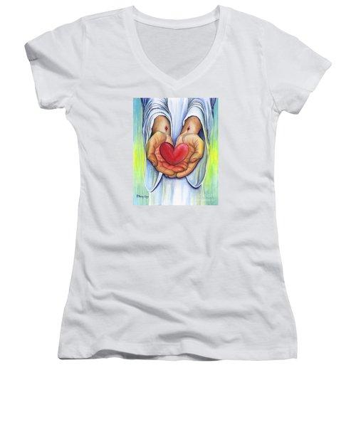 Heart's Desire Women's V-Neck T-Shirt