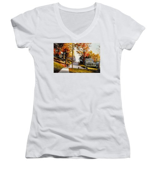 Hearts In Atlantis Women's V-Neck T-Shirt