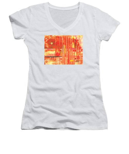 Heat Women's V-Neck T-Shirt