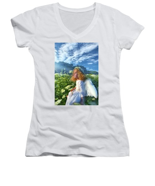 Heaven Sent Women's V-Neck