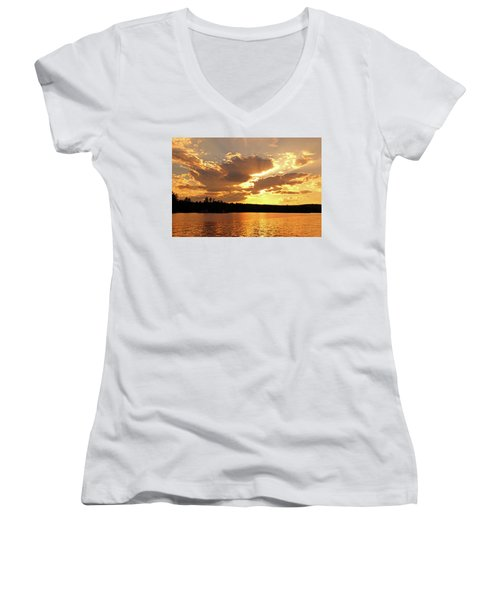 Heaven Shining Women's V-Neck