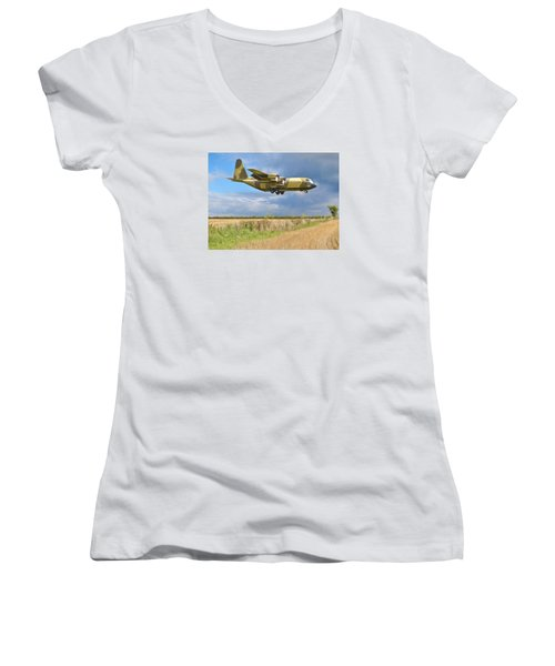 Hercules Xv222 Women's V-Neck T-Shirt