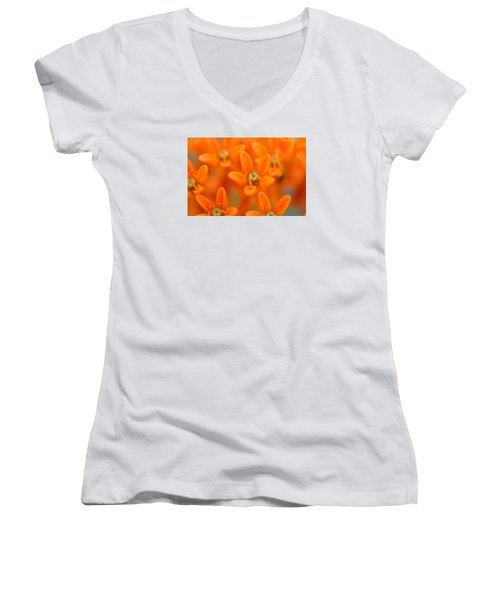 Here Women's V-Neck T-Shirt