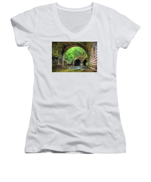 Hidden Gem Women's V-Neck