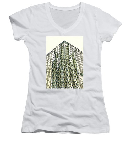 Downtown Dallas Women's V-Neck