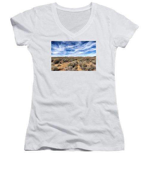 High Desert Women's V-Neck