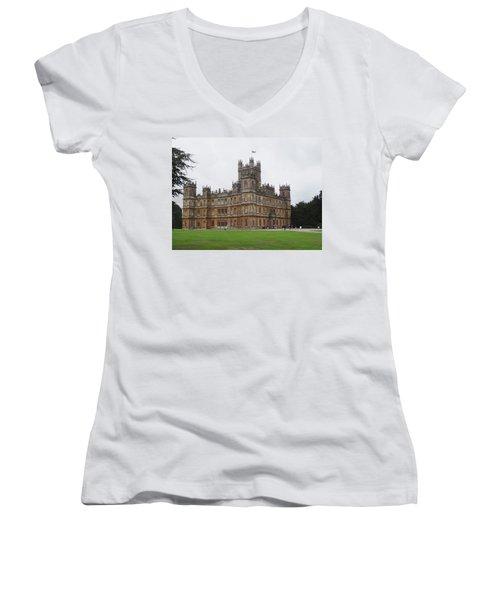 Highclere Castle Women's V-Neck