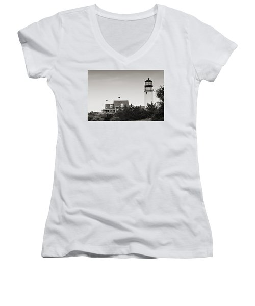 Highland Light At Cape Cod Women's V-Neck
