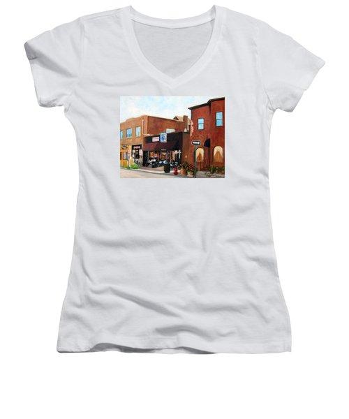 Highland Park Nj Women's V-Neck T-Shirt