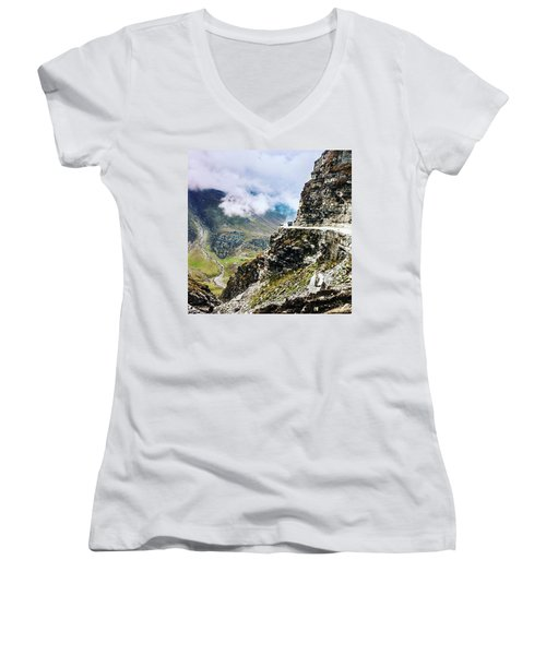 Himalayan Roads Are Good For Your Women's V-Neck