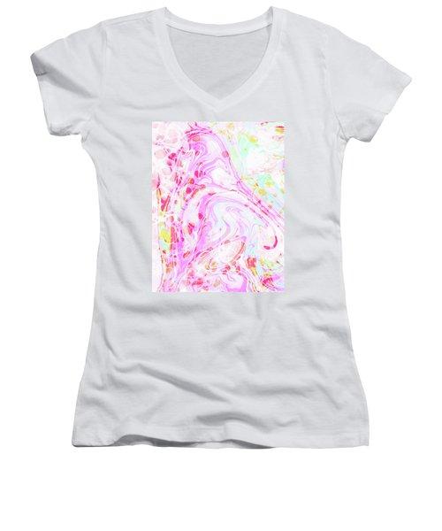 Hiraeth Women's V-Neck T-Shirt (Junior Cut) by Uma Gokhale