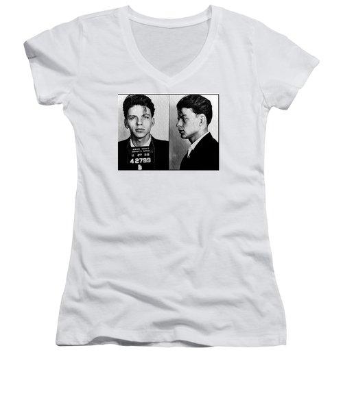 His Way Women's V-Neck T-Shirt (Junior Cut)
