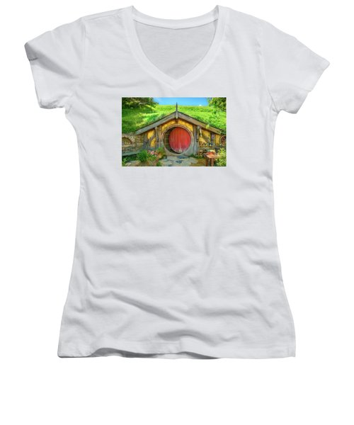 Hobbit House Women's V-Neck
