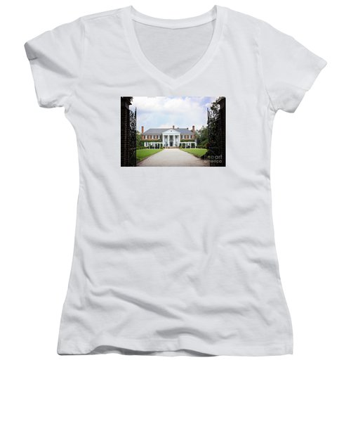Home At Boone Hall Women's V-Neck