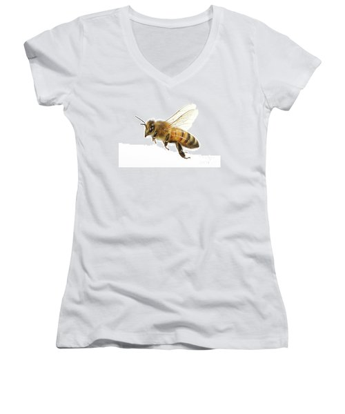 Honey Bound Women's V-Neck T-Shirt