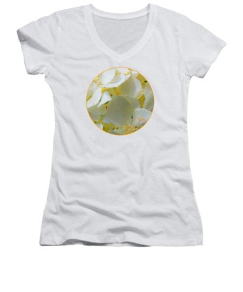 Honeysuckle Blossoms Women's V-Neck T-Shirt