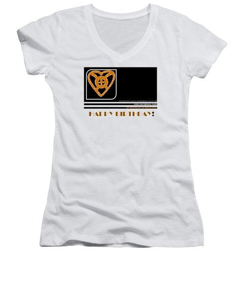 Hope Women's V-Neck T-Shirt (Junior Cut)