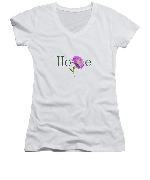Hope Shirt Women's V-Neck T-Shirt