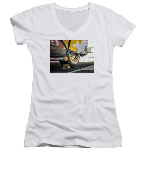 Hot Rod Realities Women's V-Neck (Athletic Fit)