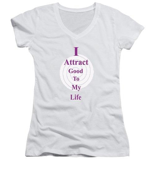 I Attract Women's V-Neck